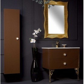 Мебель для ванной Armadi Art NeoArt 80 Dark Brown ➦ Vanna-retro.ru
