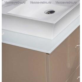 Столешница Armadi Art NeoArt 100 White (стекло) ➦ Vanna-retro.ru