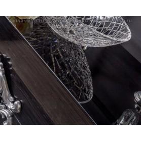 Столешница Armadi Art NeoArt 110 Black Wood (стекло) ➦ Vanna-retro.ru