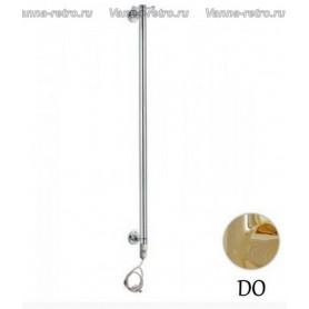 Полотенцесушитель электрический Margaroli Arcobaleno 616 - 900, золото