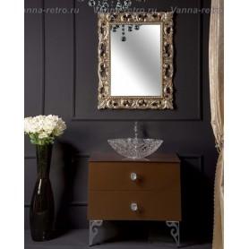 Мебель для ванной Armadi Art NeoArt 110 Dark Brown под столешницу ➦ Vanna-retro.ru