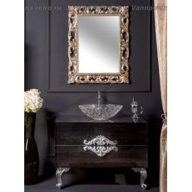Мебель для ванной Armadi Art NeoArt 110 Black Wood под столешницу ➦ Vanna-retro.ru