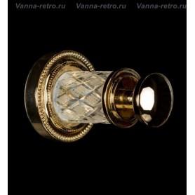 Крючок Boheme Murano Crystal 10906-CRST-G золото ➦ Vanna-retro.ru