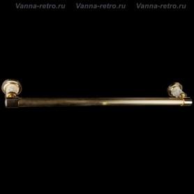 Полотенцедержатель Boheme Murano Crystal 10902-CRST-G золото ➦ Vanna-retro.ru