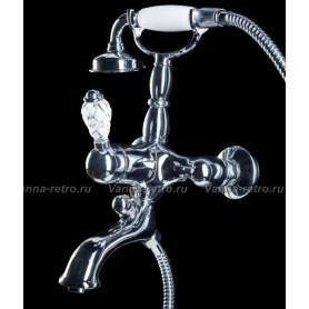 Смеситель для ванны Boheme Crystal 263-CRST (хром)