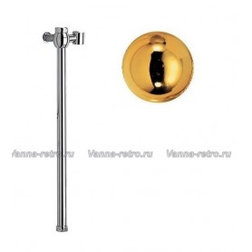 Удлинитель 50 см для душевых систем Nicolazzi 5606EXTGB золото