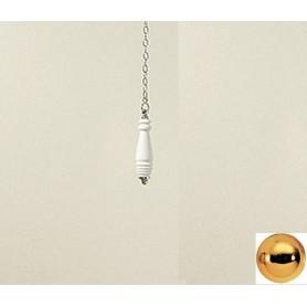 Ручка, цепочка и рычаг для высокого бачка Devon Devon Oxford B1041AGMC цвет светлое золото