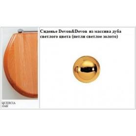 Сиденье Devon Devon Blues IBSEQUERO из массива дуба светлого цвета (петли светлое