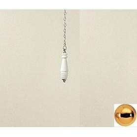Ручка, цепочка и рычаг для высокого бачка цвет светлое золото Devon Devon Blues