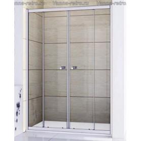 Душевая дверь RGW CL-10 (126-131)х185 стекло прозрачное ➦ Vanna-retro.ru