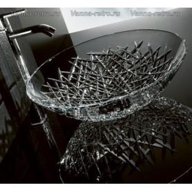 Раковина накладная хрустальная Armadi Art NeoArt 801 ➦ Vanna-retro.ru