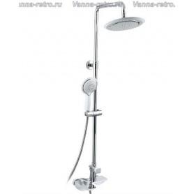 Душевая система для ванны и душа Timo Helmi SX-1070 /00 (412) хром/белый ➦