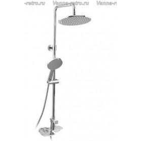 Душевая система для ванны и душа Timo Helmi SX-1070 /00 (1060) хром/белый
