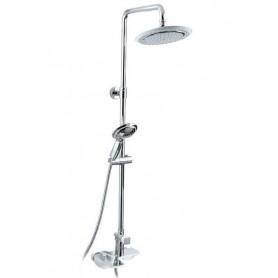 Душевая система для ванны и душа Timo Helmi SX-1070 /00 (2100) хром/белый