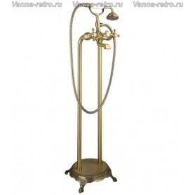 Смеситель напольный для ванны Timo Nelson 1900 /02Y-CR antique бронза ➦
