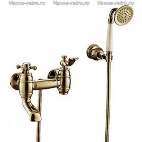 Смеситель для ванны Timo Lina 7034/02Y antique бронза