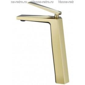 Смеситель для раковины Boheme Venturo 382 золото ➦ Vanna-retro.ru