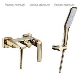 Смеситель для ванны Boheme Venturo 383 золото ➦ Vanna-retro.ru
