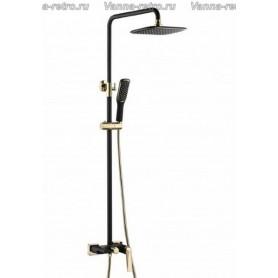 Душевая система Boheme Venturo 388-B черный/золото