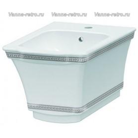 Подвесное биде Boheme Hermitage 953-CH (декор хром) ➦ Vanna-retro.ru