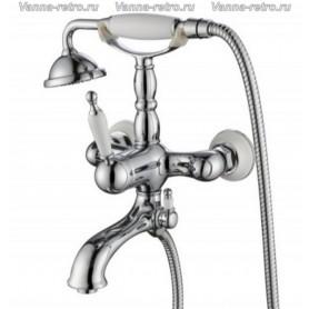 Смеситель для ванны Aksy Bagno Faenza 401 хром