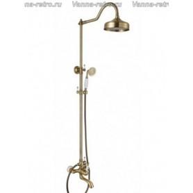 Душевая система для ванны Aksy Bagno Faenza Fa401-2002-2004 бронза ➦ Vanna-retro.ru