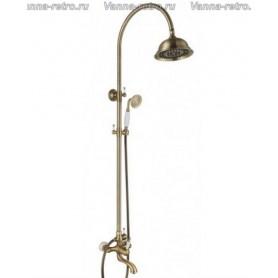 Душевая система для ванны Aksy Bagno Faenza Fa401-2005-2001 бронза