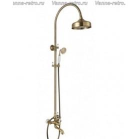 Душевая система для ванны Aksy Bagno Faenza Fa401-2005-2004 бронза