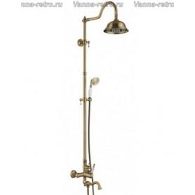 Душевая система для ванны Aksy Bagno Prestigio Ps701-2002-2001 бронза