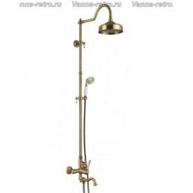 Душевая система для ванны Aksy Bagno Prestigio Ps701-2002-2004 бронза