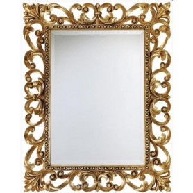 Зеркало De Aqua Багет R.1076.PA.ZF золото ➦ Vanna-retro.ru