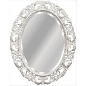 Зеркало De Aqua Багет 0.1021.BA.ZF белый ➦ Vanna-retro.ru