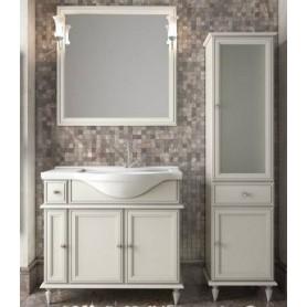Мебель для ванной Опадирис Санрайз 90 цвет слоновая кость (левая)