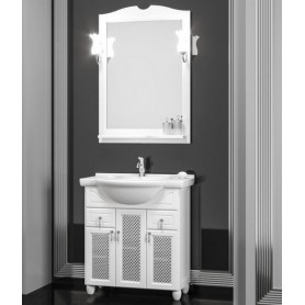 Мебель для ванной Опадирис Тибет 70 цвет белый матовый ➦ Vanna-retro.ru