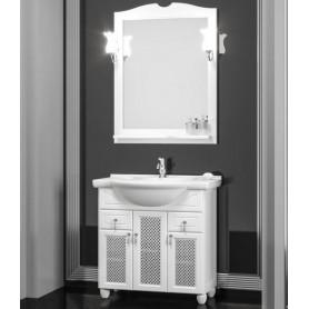 Мебель для ванной Опадирис Тибет 80 цвет белый матовый