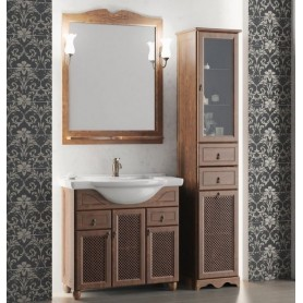 Мебель для ванной Опадирис Тибет 80 цвет орех ➦ Vanna-retro.ru