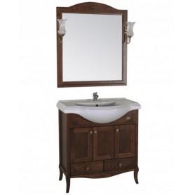 Мебель для ванной АСБ Салерно 80 ➦ Vanna-retro.ru