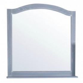 Зеркало с полкой АСБ Модерн 105 цвет голубой