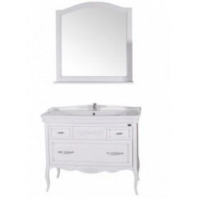 Мебель для ванной АСБ Модерн 105 цвет белый