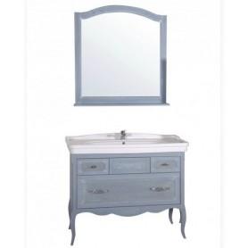 Мебель для ванной АСБ Модерн 105 цвет голубой - Vanna-retro.ru