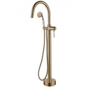 Смеситель Boheme Medici 309 напольный для ванны (бронза)