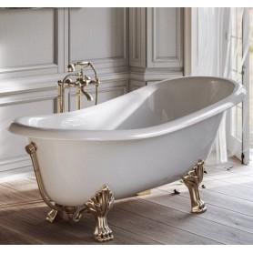 Ванна Tiffany World TW176 bi/oro на лапах в цвете золото