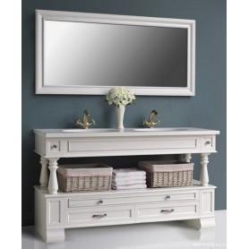 Мебель для ванной Атолл Джулия 157х60 см цвет ivory (слоновая кость/серебро) ➦