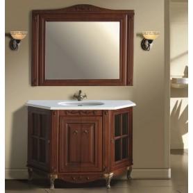 Мебель для ванной Атолл Верона 125х57 цвет scuro (орех)