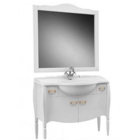 Мебель для ванной Белюкс Бари 110 в белом цвете