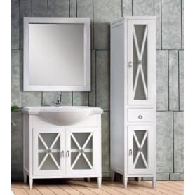 Мебель для ванной Белюкс Рояль 80 белый глянец