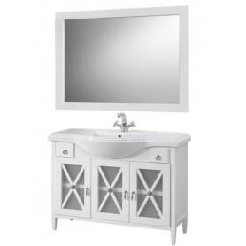 Мебель для ванной Белюкс Рояль 105 белый глянец