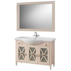 Мебель для ванной Белюкс Рояль 105 бежевый глянец