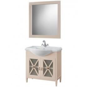 Мебель для ванной Белюкс Рояль 80 бежевый глянец -