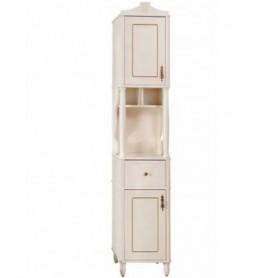 Шкаф-колонна Белюкс Флоренция Р 40-01 цвет слоновая кость с золотой патиной